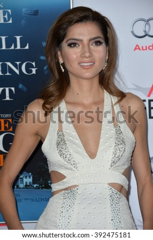 "LOS ANGELES, CA - NOVEMBER 12, 2015: Actress Blanca Blanco at the world premiere of ""The Big Short"" at the TCL Chinese Theatre"