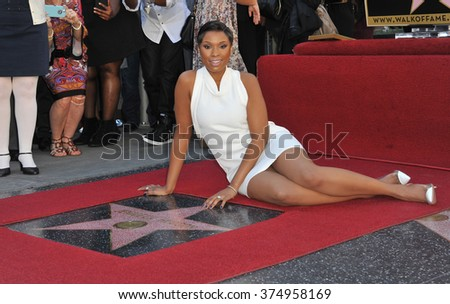LOS ANGELES, CA - NOVEMBER 13, 2013: Actress/singer Jennifer Hudson is honored with the 2,512th star on the Hollywood Walk of Fame. Picture: Paul Smith / Featureflash