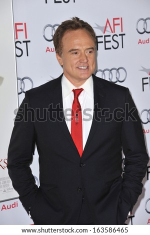 "LOS ANGELES, CA - NOVEMBER 7, 2013: Bradley Whitford at the premiere of his movie ""Saving Mr Banks"", the opening movie of the AFI FEST 2013, at the TCL Chinese Theatre, Hollywood.  - stock photo"