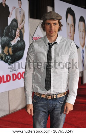 "LOS ANGELES, CA - NOVEMBER 9, 2009: Dax Shepard at the world premiere of his new movie Walt Disney's ""Old Dogs"" at the El Capitan Theatre, Hollywood. - stock photo"