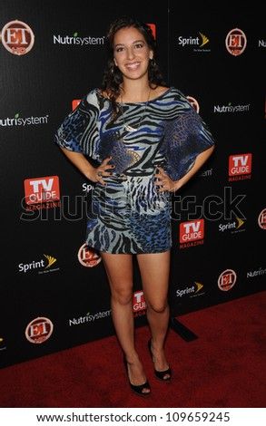 "LOS ANGELES, CA - NOVEMBER 10, 2009: ""Hawthorne"" star Vanessa Lengies at TV Guide Magazine's Hot List Party at the SLS Hotel, Beverly Hills."