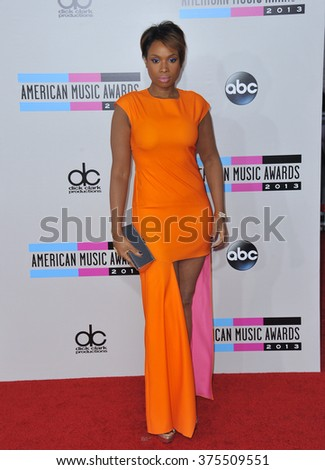 LOS ANGELES, CA - NOVEMBER 24, 2013: Jennifer Hudson at the 2013 American Music Awards at the Nokia Theatre, LA Live.
