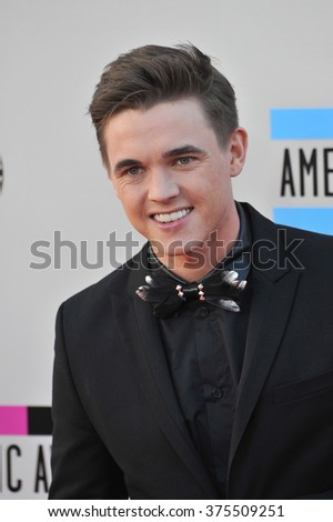 LOS ANGELES, CA - NOVEMBER 24, 2013: Jesse McCartney at the 2013 American Music Awards at the Nokia Theatre, LA Live.