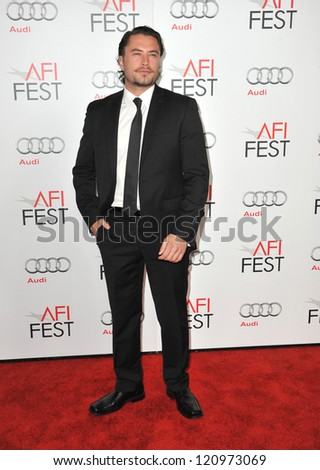 "LOS ANGELES, CA - NOVEMBER 8, 2012: Kevin Ryan at the AFI Fest premiere of ""Lincoln"" at Grauman's Chinese Theatre, Hollywood."