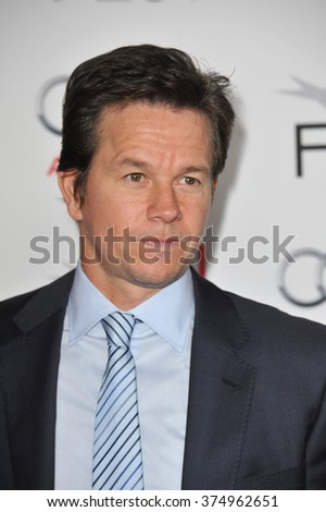 """LOS ANGELES, CA - NOVEMBER 12, 2013: Mark Wahlberg at the world premiere of his movie """"Lone Survivor"""" at the TCL Chinese Theatre, Hollywood. Picture: Paul Smith / Featureflash - stock photo"""