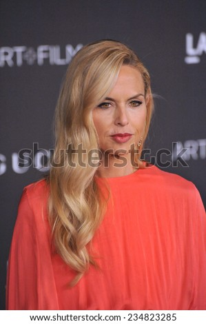 LOS ANGELES, CA - NOVEMBER 1, 2014: Rachel Zoe at the 2014 LACMA Art+Film Gala at the Los Angeles County Museum of Art.  - stock photo