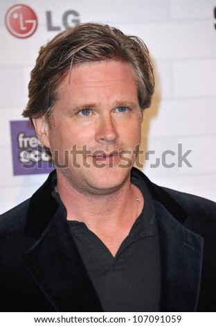 LOS ANGELES, CA - OCTOBER 16, 2010: Cary Elwes at Spike TV's 2010 Scream Awards at the Greek Theatre, Griffith Park, Los Angeles.