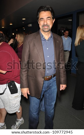 LOS ANGELES, CA - OCTOBER 19, 2009: Criminal Minds star Joe Mantegna at party to celebrate the 100th episode of the show.