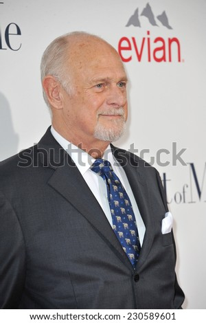 "LOS ANGELES, CA - OCTOBER 7, 2014: Gerald McRaney at the world premiere of his movie ""The Best of Me"" at the Regal Cinemas LA Live.  - stock photo"