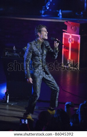 LOS ANGELES, CA - OCTOBER 04:  Jane's Addiction play a sold out show to fans at the Ford Amphitheatre on October 4, 2011 in Los Angeles, California.