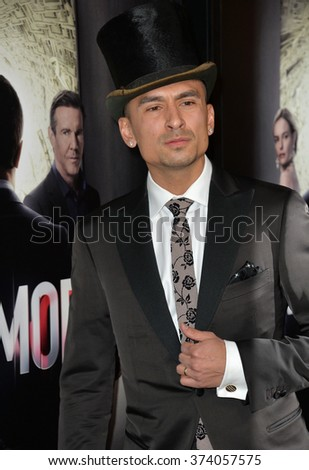 "LOS ANGELES, CA - OCTOBER 29, 2015: Michael Reventar at the Los Angeles premiere for Crackle's ""The Art of More"" at Sony Pictures Studios, Culver City."