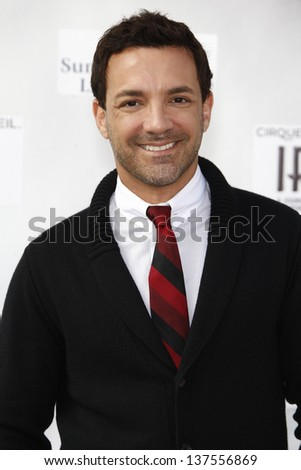 LOS ANGELES, CA - SEP 25: George Kotsiopoulos at the IRIS, A Journey Through the World of Cinema by Cirque du Soleil premiere September 25, 2011 at Kodak Theater in Los Angeles, California - stock photo
