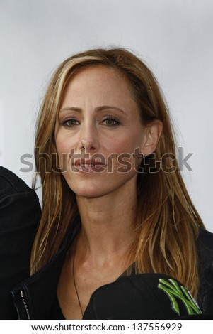 LOS ANGELES, CA - SEP 25: Kim Raver at the IRIS, A Journey Through the World of Cinema by Cirque du Soleil premiere September 25, 2011 at Kodak Theater in Los Angeles, California - stock photo