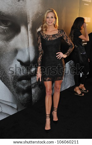 "LOS ANGELES, CA - SEPTEMBER 6, 2011: Brooke Burns at the world premiere of ""Warrior"" at the Arclight Theatre, Hollywood. September 6, 2011  Los Angeles, CA"