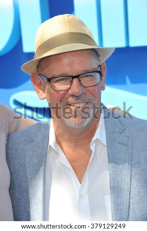 """LOS ANGELES, CA - SEPTEMBER 7, 2014: Director Charles Martin Smith at the Los Angeles premiere of her movie """"Dolphin Tale 2"""" at the Regency Village Theatre, Westwood. - stock photo"""