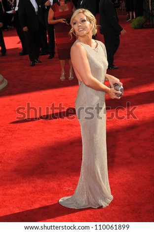 LOS ANGELES, CA - SEPTEMBER 20, 2009: Jane Krakowski at the 61st Primetime Emmy Awards at the Nokia Theatre L.A. Live.