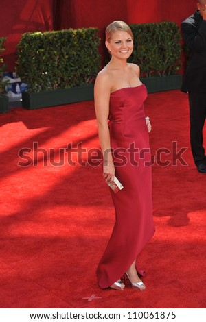 LOS ANGELES, CA - SEPTEMBER 20, 2009: Jennifer Morrison at the 61st Primetime Emmy Awards at the Nokia Theatre L.A. Live.