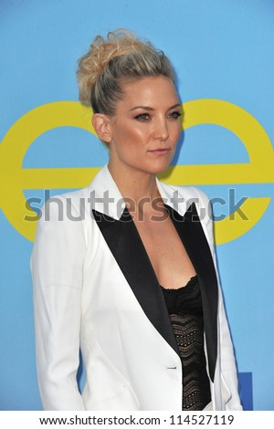 "LOS ANGELES, CA - SEPTEMBER 12, 2012: Kate Hudson at the season four premiere of ""Glee"" at Paramount Studios, Hollywood. - stock photo"