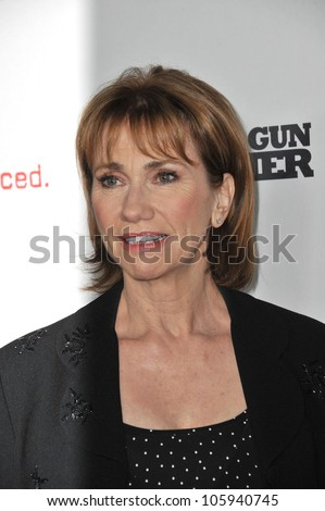 "LOS ANGELES, CA - SEPTEMBER 21, 2011: Kathy Baker at the premiere ""Machine Gun Preacher"" at the Samuel Goldwyn Theatre. September 21, 2011  Los Angeles, CA"