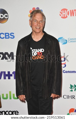 LOS ANGELES, CA - SEPTEMBER 5, 2014: Mark Harmon at the 2014 Stand Up To Cancer Gala at the Dolby Theatre, Hollywood.  - stock photo