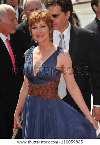 LOS ANGELES, CA - SEPTEMBER 12, 2009: Sharon Lawrence at the 2009 Creative Arts Emmy Awards at the Nokia Theatre L.A. Live. - stock photo