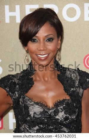 Los Angeles, CA, USA; December 2, 2012; Holly Robinson Peete arrives to the 2012 CNN Heroes in Los Angeles, California. - stock photo