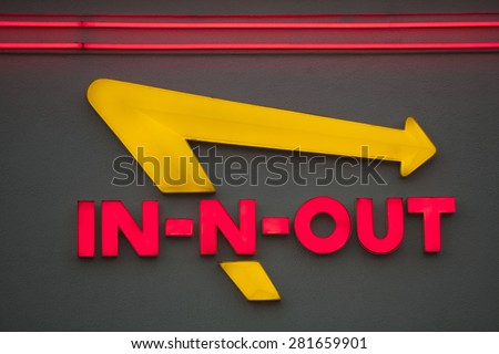 los angeles causa may 24 2015 exterior sign of an - Yellow Restaurant 2015