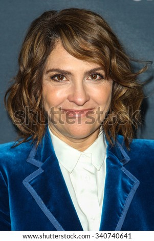 LOS ANGELES, CA/USA -  NOVEMBER  09  2015: Jill Soloway attends the Red Carpet Premiere Screening For Season Two of 'Transparent' .