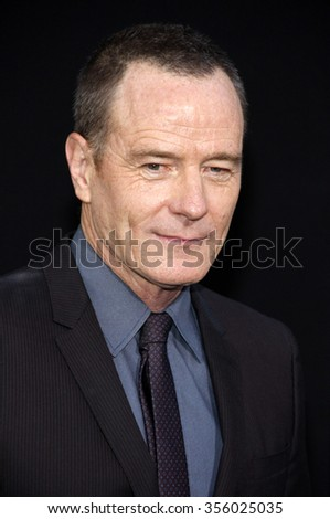 "LOS ANGELES, CALIFORNIA - August 1, 2012. Bryan Cranston at the Los Angeles premiere of ""Total Recall"" held at the Grauman's Chinese Theater, Los Angeles."