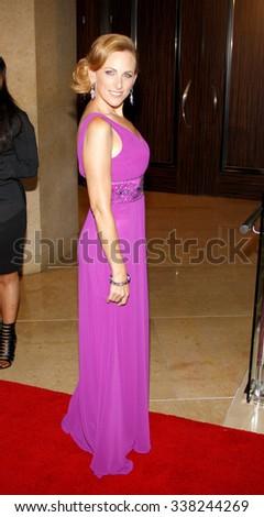 LOS ANGELES, CALIFORNIA - May 23, 2012. Marlee Matlin at the 37th Annual Gracie Awards Gala held at the Beverly Hilton Hotel, Los Angeles.   - stock photo