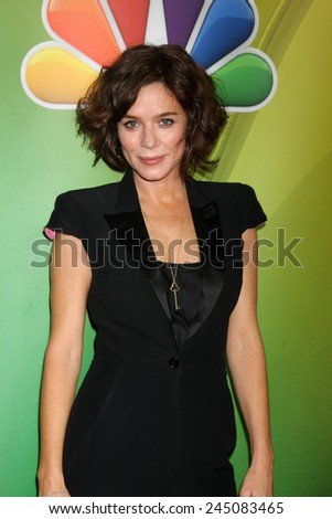 LOS ANGELES - DEC 16:  Anna Friel at the NBCUniversal TCA Press Tour at the Huntington Langham Hotel on December 16, 2015 in Pasadena, CA - stock photo