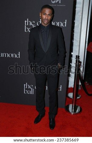 LOS ANGELES - DEC 11:  Big Sean at the Rihanna's First Annual Diamond Ball at the The Vineyard on December 11, 2014 in Beverly Hills, CA - stock photo