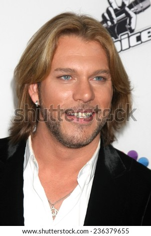"LOS ANGELES - DEC 8:  Craig Wayne Boyd at the NBC's ""The Voice"" Season 7 Red Carpet Event at the HYDE Sunset: Kitchen + Cocktails on December 8, 2014 in West Hollywood, CA"