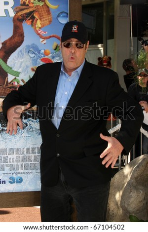 "LOS ANGELES - DEC 11:  Dan Aykroyd  arrives at the ""Yogi Bear 3-D"" Premiere at The Village Theater on December 11, 2010 in Westwood, CA."