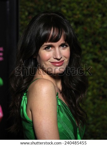 "LOS ANGELES - DEC 15:  ELIZABETH REASER arrives to the ""Young Adult"" Los Angeles Premiere  on December 15, 2011 in Beverly Hills, CA                 - stock photo"