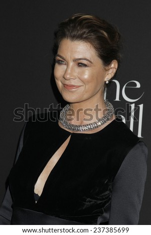 LOS ANGELES - DEC 11:  Ellen Pompeo at the Rihanna's First Annual Diamond Ball at the The Vineyard on December 11, 2014 in Beverly Hills, CA - stock photo