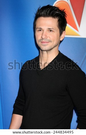 LOS ANGELES - DEC 16:  Freddy Rodriguez at the NBCUniversal TCA Press Tour at the Huntington Langham Hotel on December 16, 2015 in Pasadena, CA - stock photo