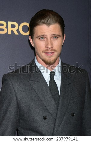 "LOS ANGELES - DEC 15:  Garrett Hedlund at the ""Unbroken"" - Los Angeles Premiere at the Dolby Theater on December 15, 2014 in Los Angeles, CA"