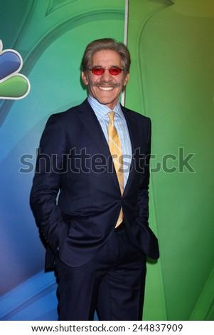 LOS ANGELES - DEC 16:  Geraldo Rivera at the NBCUniversal TCA Press Tour at the Huntington Langham Hotel on December 16, 2015 in Pasadena, CA - stock photo