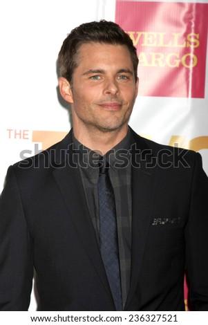 "LOS ANGELES - DEC 7:  James Marsden at the ""TrevorLIVE LA"" at the Hollywood Palladium on December 7, 2014 in Los Angeles, CA - stock photo"