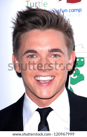 """LOS ANGELES - DEC 4:  Jesse McCartney arrives at """"A Celebration Of Carole King And Her Music"""" at Dolby Theater on December 4, 2012 in Los Angeles, CA - stock photo"""