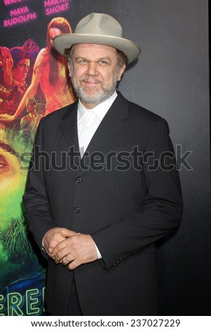 "LOS ANGELES - DEC 10:  John C. Reilly at the ""Inherent Vice"" Los Angeles Premiere at the TCL Chinese Theater on December 10, 2014 in Los Angeles, CA - stock photo"