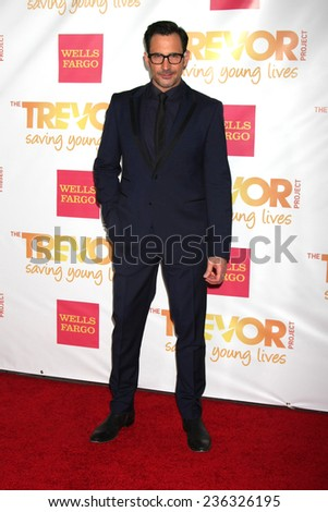 """LOS ANGELES - DEC 7:  Lawrence Zarian at the """"TrevorLIVE LA"""" at the Hollywood Palladium on December 7, 2014 in Los Angeles, CA - stock photo"""
