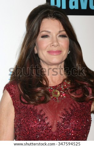 LOS ANGELES - DEC 3:  Lisa Vanderpump at theThe Real Housewives of Beverly Hills Premiere Red Carpet 2015 at the W Hotel Hollywood on December 3, 2015 in Los Angeles, CA - stock photo