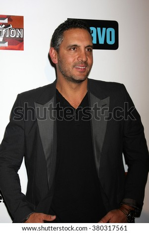 LOS ANGELES - DEC 3:  Mauricio Umansky at The Real Housewives of Beverly Hills Premiere Red Carpet 2015 at the W Hotel Hollywood on December 3, 2015 in Los Angeles, CA - stock photo