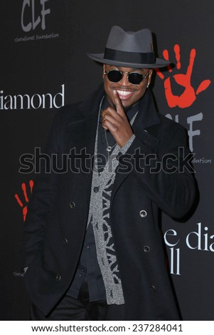 LOS ANGELES - DEC 11:  Ne-Yo at the Rihanna's First Annual Diamond Ball at the The Vineyard on December 11, 2014 in Beverly Hills, CA