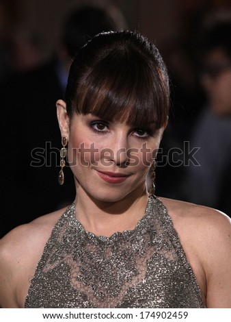 "LOS ANGELES - DEC 06:  NOOMI RAPACE arrives to the ""Sherlock Holmes A Game of Shadows"" Los Angeles Premiere  on December 06, 2011 in Westwood, CA                 - stock photo"