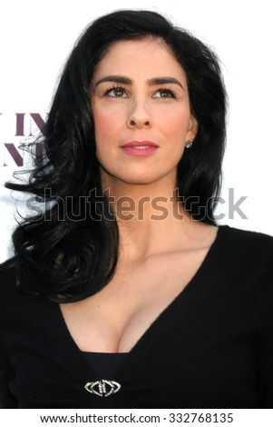 LOS ANGELES - DEC 10:  Sarah Silverman at the 23rd Power 100 Women in Entertainment Breakfast at the MILK Studio on December 10, 2014 in Los Angeles, CA - stock photo