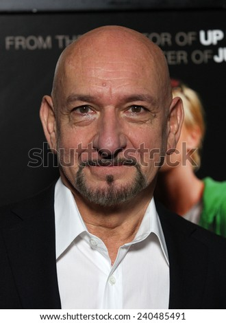 "LOS ANGELES - DEC 15:  SIR BEN KINGSLEY arrives to the ""Young Adult"" Los Angeles Premiere  on December 15, 2011 in Beverly Hills, CA                 - stock photo"