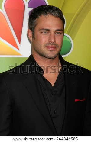 LOS ANGELES - DEC 16:  Taylor Kinney at the NBCUniversal TCA Press Tour at the Huntington Langham Hotel on December 16, 2015 in Pasadena, CA - stock photo